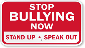 Stop Bullying Now that links to page with bullying information